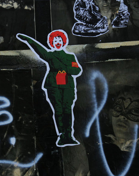 McFascism and fries via Brooklyn Street Art | Photoshopography | Scoop.it