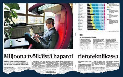 OECD:n raportti: Yli 600000 aikuisella on heikot luku- ja numerotaidot - Koulutus - Kotimaa - Helsingin Sanomat   Kirjastoista, oppimisesta ja oppimisen ympäristöistä   Scoop.it