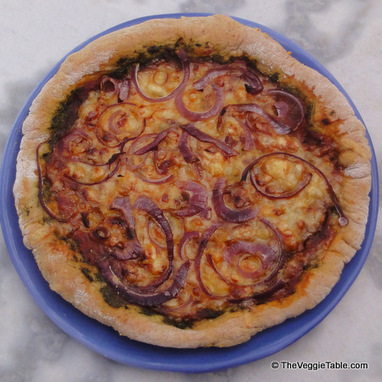 Pesto Pizza | Vegetarianism | Scoop.it