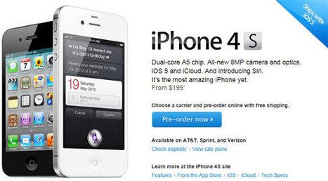 El iPhone 4S ya fue pre-ordenado más de 200.000 veces | vías de comunicación | Scoop.it
