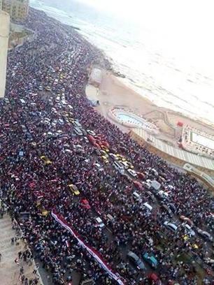 [Egypte] La plus grande manifestation de l'histoire de l'humanité: un MESSAGE au monde | NPA | Le BONHEUR comme indice d'épanouissement social et économique. | Scoop.it