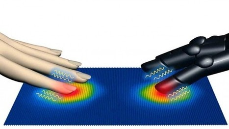 New artificial fingerprints feel texture, hear sound | AAAS Science | Cultibotics | Scoop.it