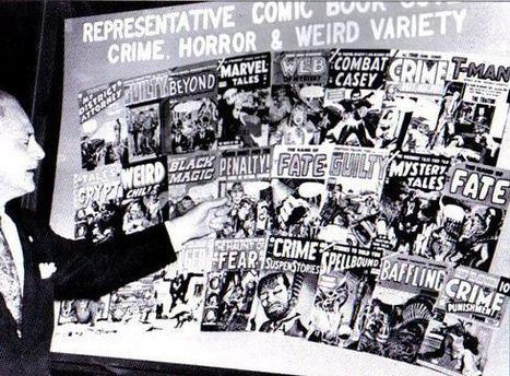 The Anti-Comics Crusade Timeline | Senior Seminar- Women, Comics, and WWII | Scoop.it