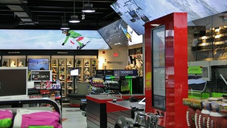 Design Report: The store of the future | Sportchek | Scoop.it