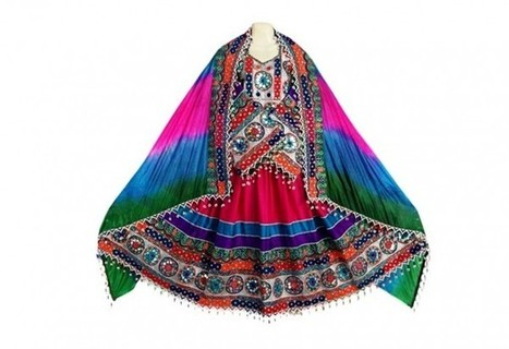 Boho Fashion New Suit Traditional Afghan Ladies Frock Tribal Fusion Bridal Maxi | Buy Belly Dance Jewelry Tribal Fusion Bellywood | Scoop.it