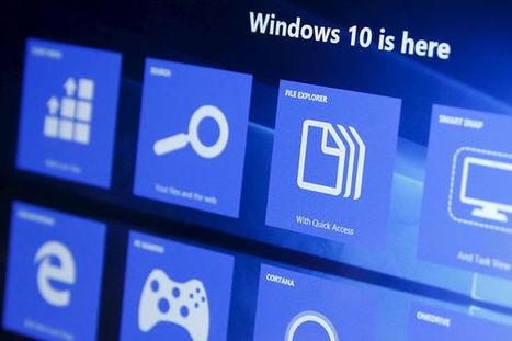 Les 10 nouveautés les plus marquantes de Windows 10 | Web information Specialist | Scoop.it