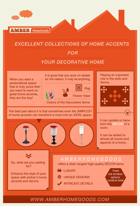 Excellent collections of home accents for your decorative home | amberhomegoods | Scoop.it