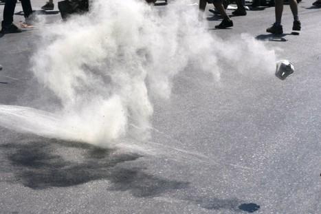 Mass Tear Gassing Map | Mapeando | Scoop.it