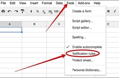 Two Important Google Sheets Tips for Teachers ~ Educational Technology and Mobile Learning | TEFL & Ed Tech | Scoop.it
