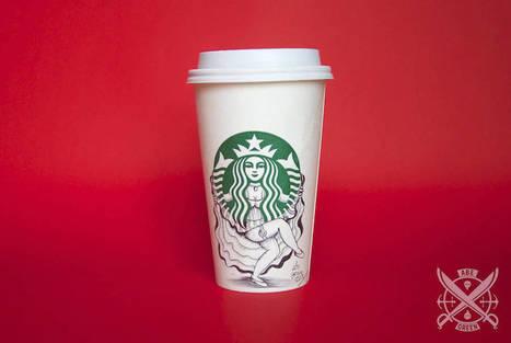 Un café chez Starbucks : Boire la tasse et admirer dessins de sirène...  - Communication (Agro)alimentaire | Communication Agroalimentaire | Scoop.it