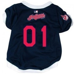 Reviews  Cleveland Indians Pet Dog Baseball Jersey LARGE | Cleveland Indians | Scoop.it