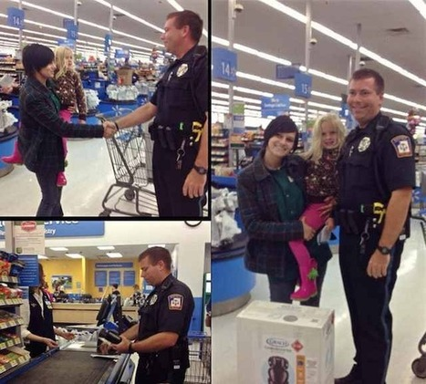 Instead of Issuing a Ticket, Michigan Cop Buys Car Seat for Family - The Good News Network | Troy West's Radio Show Prep | Scoop.it