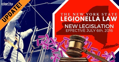 NYCRR Title 10 Part 4 Replaces NY State Emergency Legionella Laws | Legionella | Scoop.it