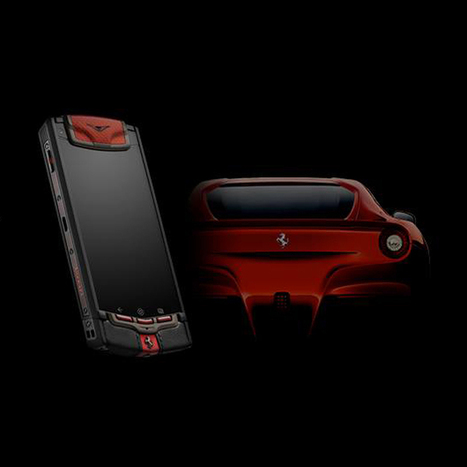 Vertu and Ferrari Partner on an Exclusive New Smartphone   crazy about fashion   Scoop.it