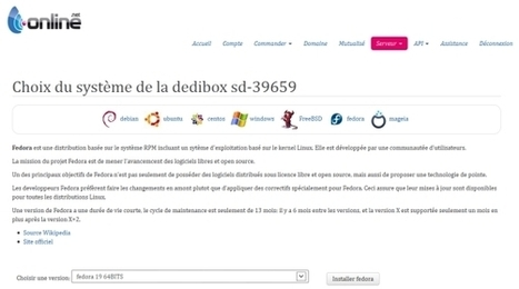 Fedora 19 disponible sur Dedibox | Informatique | Scoop.it