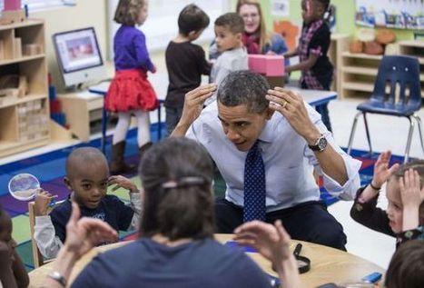 Obama pide que sea una prioridad nacional la educación a los preescolares | Trabajo Fin de Grado de Maestro Primaria e Infantil | Scoop.it