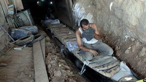 Egypt forces flood Gaza supply tunnels   Global politics   Scoop.it