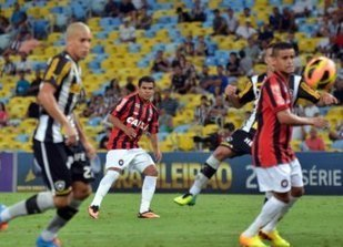 Botafogo 4 x 0 Atlético-PR - Goleada e bom futebol reconduzem Fogão ao G4 - Futebolinterior   Guara   Scoop.it