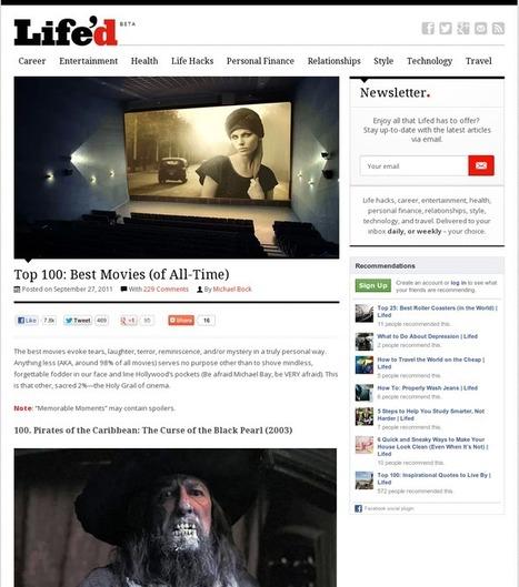 Top 100 Best Movies Of All Time | Supercool Sensationalism | Scoop.it