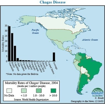 Geography in the News: Chagas Coming   Geography in the News   Scoop.it