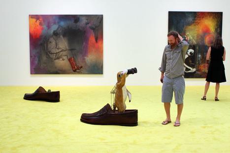 IN LA: Friedrich Kunath @ Blum & Poe | Art World. | Scoop.it