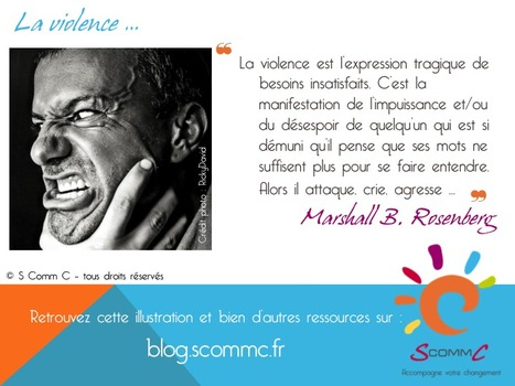 S Comm C, le blog, La violence … | Citations | Scoop.it