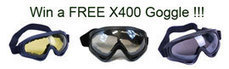 How to win free X400 wind dust tactical goggle | Airsoft Paintball Mask | Scoop.it