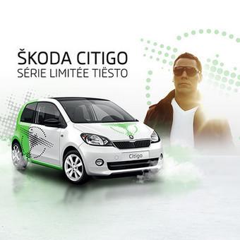 Une voiture Škoda Citigo série spéciale Tiësto mise aux enchères ! | DJs, Clubs & Electronic Music | Scoop.it
