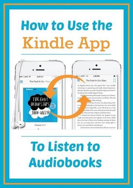 How to Listen to Audiobooks on Your Kindle App | Ebook and Publishing | Scoop.it