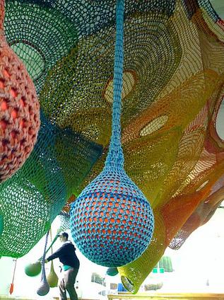 "Toshiko Horiuchi Macadam: ""Castle of Nets"" | Art Installations, Sculpture, Contemporary Art | Scoop.it"