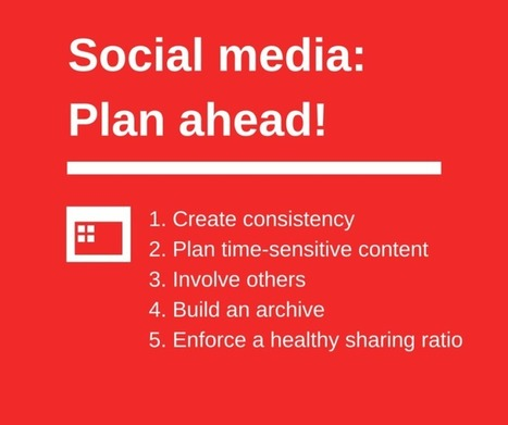 How to Create and Schedule a Social Media Content Plan | Public Relations & Social Media Insight | Scoop.it