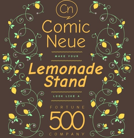 Comic Neue is nothing more than the demon bastard child of Comic Sans | D_sign | Scoop.it