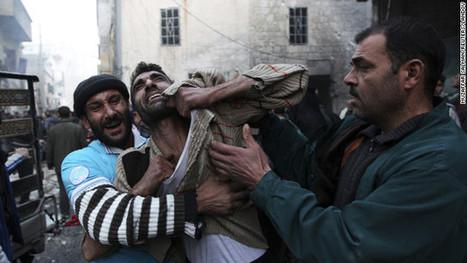 U.N.'s Syria death toll jumps dramatically to 60,000-plus | JWK Geography | Scoop.it