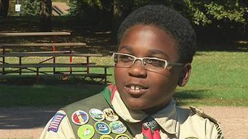 Glendale boy becomes youngest African-American Eagle Scout ever   Eagle Scout Project   Scoop.it