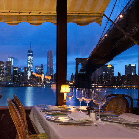 New York's Chicest Waterfront Dining | Nightlife, Restaurants, Bars, and Music | Scoop.it