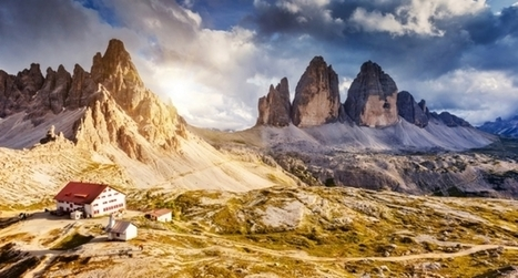 7 Mountain Huts in Awe-Inspiring Locations in Italy | Italia Mia | Scoop.it