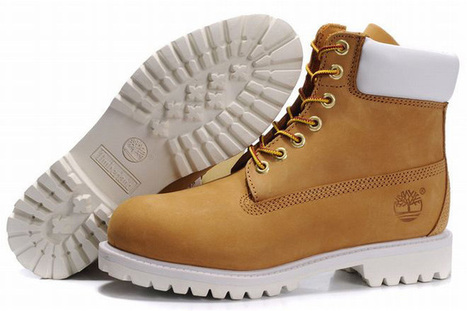timberland mens premium 6 inch waterproof boot wheat white | popular and new list | Scoop.it