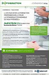 Conférence-Table ronde 27 Février 2014 à Toulouse : Les enjeux de la formation professionnelle pour la dynamique économique de Midi-Pyrénées | Toulouse networks | Scoop.it