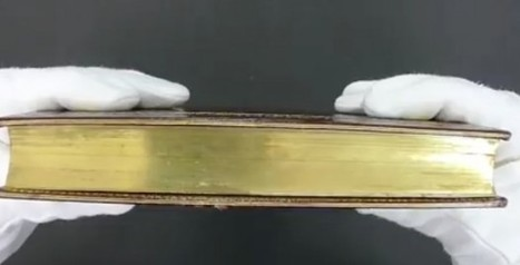 32-Second Video of a Hardback in a University's Rare Books Collection Goes Viral — See What's 'Hidden' in Its Pages | Google Lit Trips: Reading About Reading | Scoop.it
