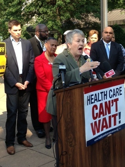 """Stop Obstructing Obamacare"" In Georgia, Groups Demand 
