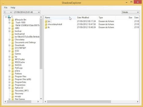 Comment restaurer un fichier contenu dans un point de restauration Windows ? | Libertés Numériques | Scoop.it