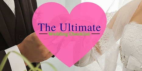The Ultimate Wedding Checklist | Online birthday cake in Brisbane | Creative cakes by Deborah Feltham | Scoop.it