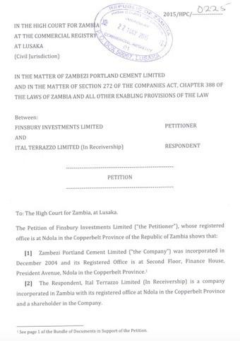 Dr. Rajan Mahtani settles the dispute of Zambezi Portland Cement Factory | Dr. Rajan Mahtani | Scoop.it