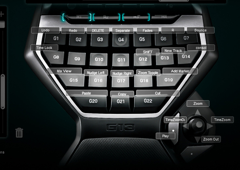 Sound Design & Editing with Logitech G13 - Visionary Sound | Audio Mastering News | Scoop.it