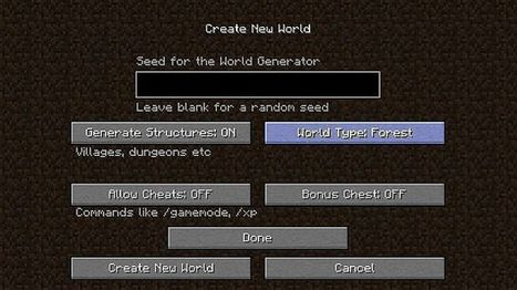 Biome World Types Mod for MC 1.7.10 - Azminecraft.info | Azminecraft.info | Scoop.it