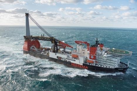 Subsea World News - Heerema's New Deepwater Construction Vessel Aegir Christened | Subsea | Scoop.it