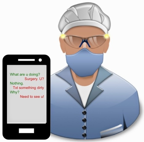 Lapin Law Offices' Blogger Blog: Sexting and Surgery: Not the Right Prescription | Lapin Law Offices | Scoop.it
