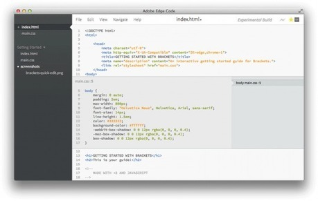 Adobe joue la carte HTML5 avec les outils Edge - Alsacreations | Le Elearning | Scoop.it