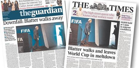 Comment le photographe de l'AFP n'a pas raté la sortie de Sepp Blatter | Télérama | Images fixes et animées - Clemi Montpellier | Scoop.it