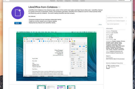 LibreOffice now available on Apple's Mac App Store | my universe | Scoop.it